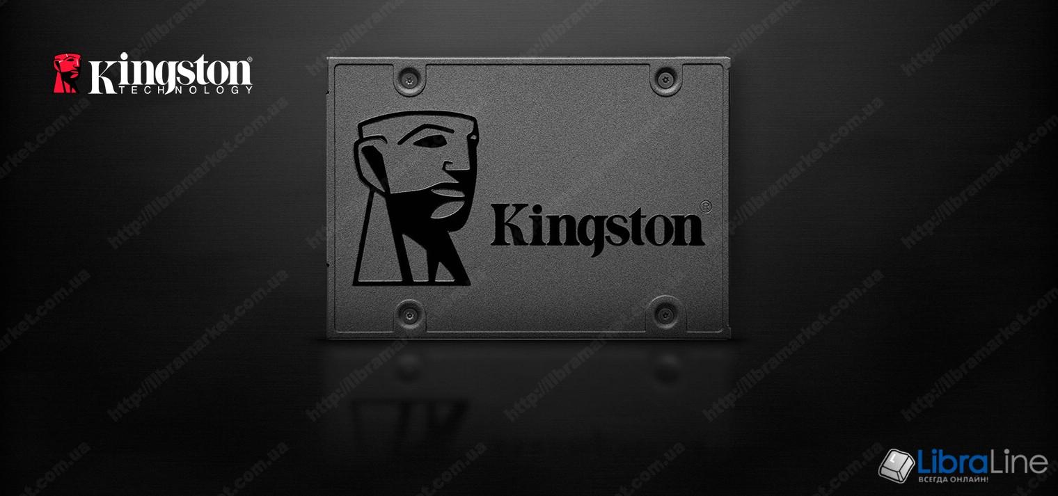 "SA400S37/480G Жесткий диск, винчестер SSD 2.5"" SATA-3 480Gb Kingston фото 1"