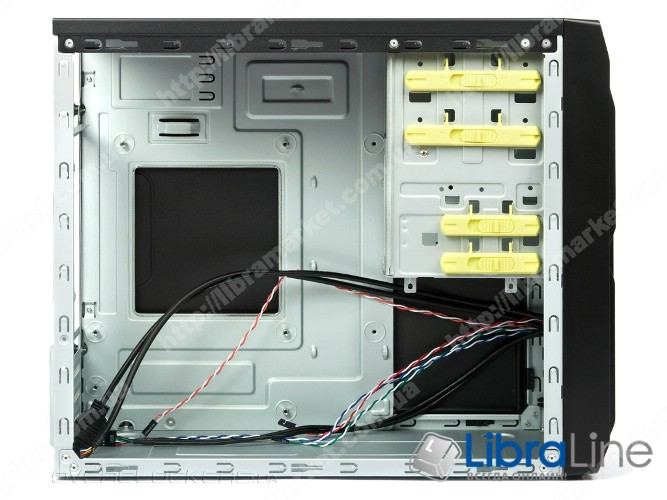 Корпус компьютера mATX ChiefTec LG-01B-OP Black, без БП фото 1