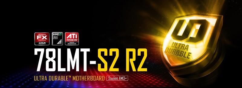 Материнская плата AM3+ Gigabyte GA-78LMT-S2R2 AMD 760G/DDR3-1333MHz*2 / SATA*6 / video / Raid / GLan / 7.1 / mATX фото 2