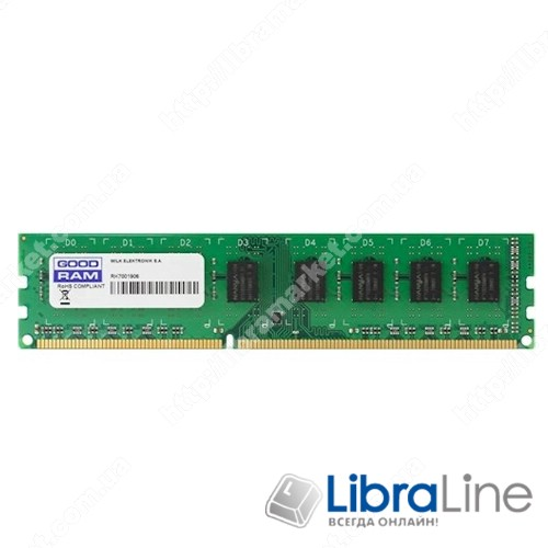 GR2400D464L17S/4G Модуль памяти DDR-4 4Gb PC4-19200 2400MHz Goodram фото1