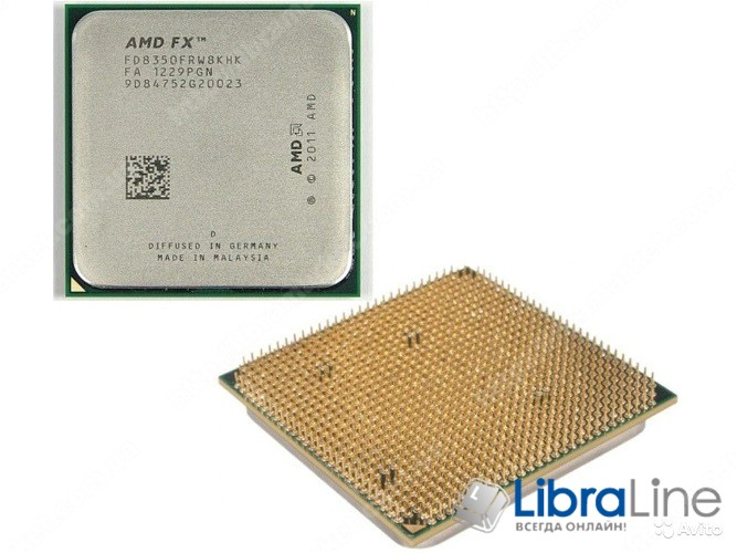FD8350FRHKBOX Процессор AMD AM3+ FX-8350 4GHz 8mb 8Core Box фото 1