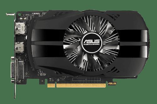 Купить Купить PH-GTX1050TI-4G  Видеокарта  Asus GeForce GTX1050TI 4Gb GDDR5 в Либра Лайн