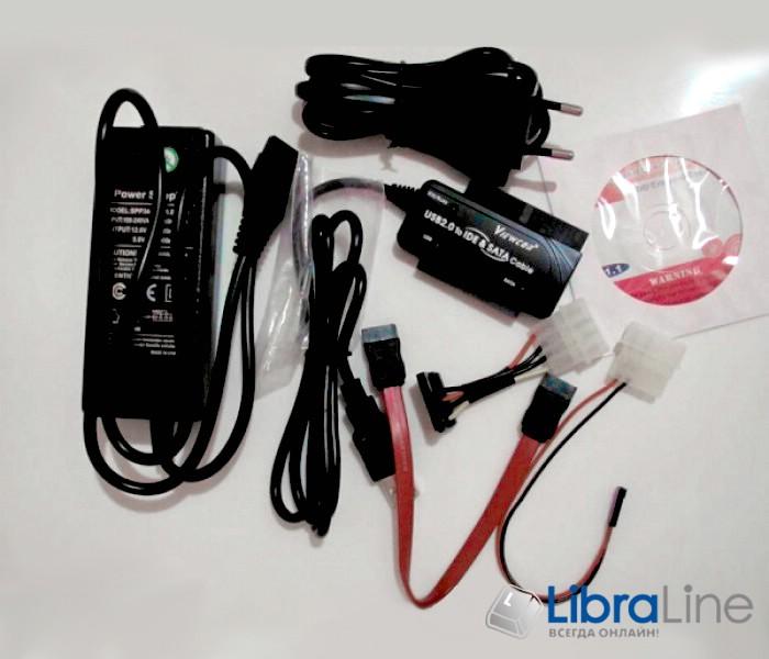 Купить Конвертер Viewcon VE158 USB2.0 to IDE/SATA  фото 1