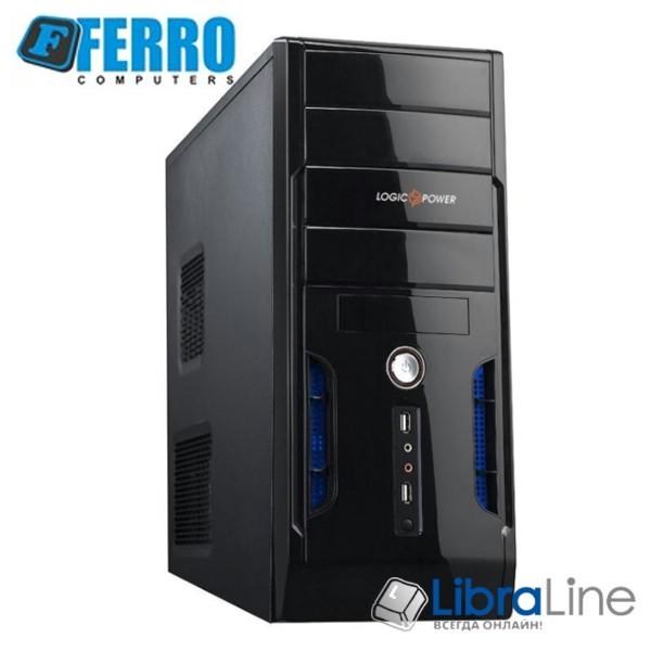 """Персональный компьютер Ferro Pro i5-8400 / 16Gb / H370 / 240Gb SSD+1Tb / GTX1050Ti / 600W / K+M / 24"""" Samsung фото 1"""