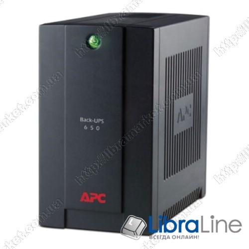 BX650CI-RS Источник бесперебойного питания APC Back-UPS  390Вт, USB фото 1