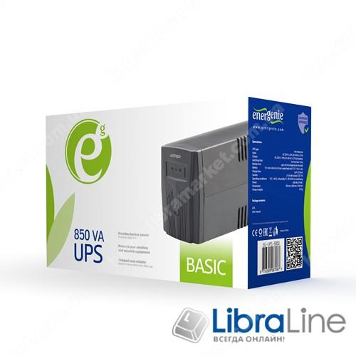 Источник бесперебойного питания Energenie EG-UPS-B850 фото 1
