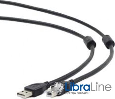 Кабель Maxxtro UF-AMBM-10 3м., USB2.0, 3м. c ферритовым фильтром фото1