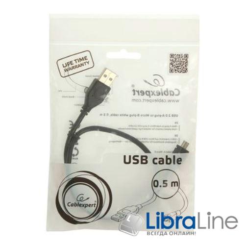 Купить Кабель Cablexpert CCP-mUSB2-AMBM-0.5M, microUSB 0.5 м фото 1
