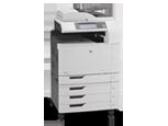 Многофункциональный принтер HP Color LaserJet CM6040
