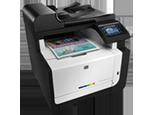 Цветное МФУ HP LaserJet Pro CM1415fn