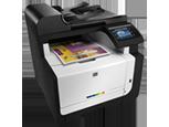 Цветное МФУ HP LaserJet Pro CM1415fnw