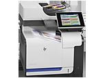Многофункциональный цветной принтер HP LaserJet Enterprise 500 M575f
