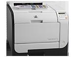 Цветной принтер HP LaserJet Pro 400 M451nw