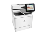 Цветное потоковое МФУ HP Color LaserJet Enterprise M577c