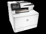 Цветное МФУ HP LaserJet Pro M477fdw