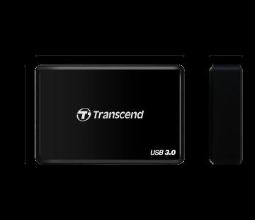 Купить Кардридер Transcend USB 3.0 Black TS-RDF8K лучшая цена в Киеве, Харькове, Днепре, Одессе, Запорожье, Львове, Украине фото 1