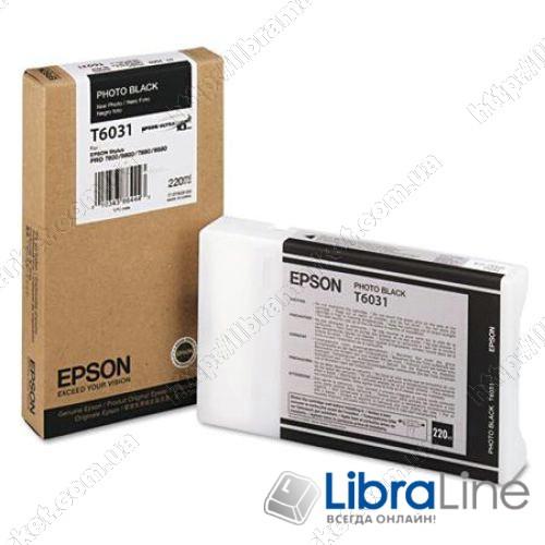 C13T603100 Картридж EPSON Stylus Pro 7800 / 7880 / 9800 / 9880 Photo Black фото 1
