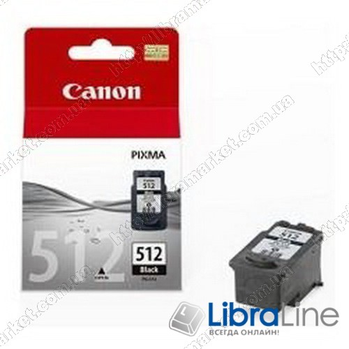 2969B007 Картридж CANON PG-512Bk MP240 / 260 Black фото 1