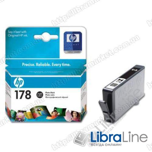 CB317HE Картридж HP №178 Photosmart D5463 / C5383 / C6383 / B8553 Photo Black фото 1