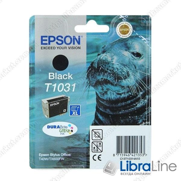 C13T10314A10 Картридж EPSON Stylus TX550W / T40W / TX600FW Black фото 1