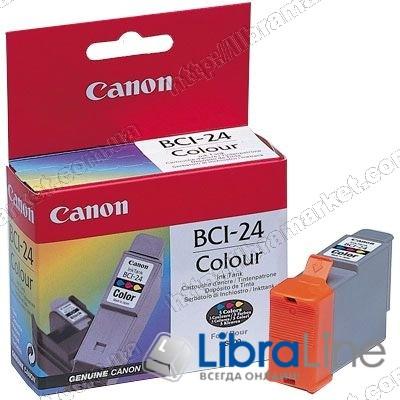 6882A002 Чернильница  ( картридж ) CANON BCI-24 iP1000 / 1500 / 2000  / MP110 / i250 / i350 Color фото 1