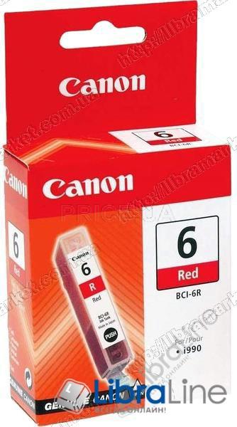8891A002 Чернильница  ( картридж )  CANON BCI-6R iP8500 / i9950 Red фото 1
