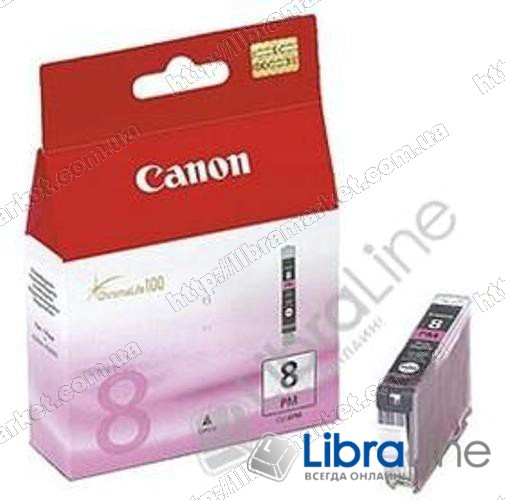 0625B024 Чернильница ( картридж ) CANON CLI-8PM iP6600 / 6700D / Pro9000 Photo Magenta фото 1