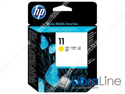 C4813A, HP 11, Печатающая головка HP, Желтая фото 1