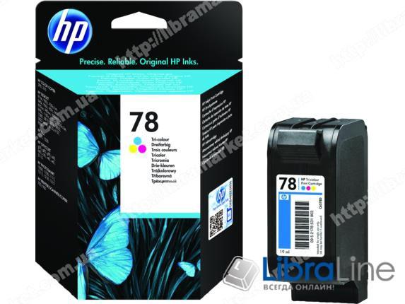 C6578A, HP 78XL, Оригинальный струйный картридж HP увеличенной емкости, Трехцветный фото 1