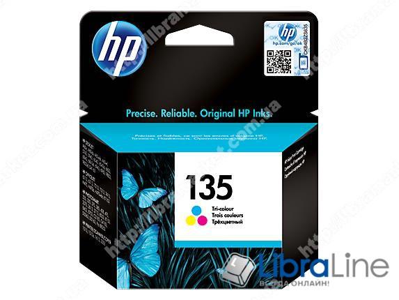 C8766HE, HP 135, Оригинальный струйный картридж HP, Трехцветный фото 1