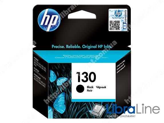 C8767HE, HP 130, Оригинальный струйный картридж HP, Черный фото 1
