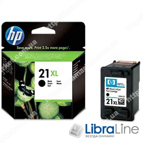 C9351CE, HP 21XL, Оригинальный струйный картридж HP увеличенной емкости, Черный фото 1