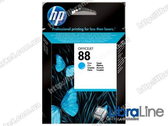 C9386AE, HP 88, Оригинальный струйный картридж HP, Голубой фото 1