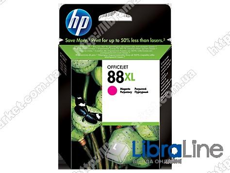 C9392AE, HP 88XL, Оригинальный струйный картридж HP увеличенной емкости, Пурпурный фото 1