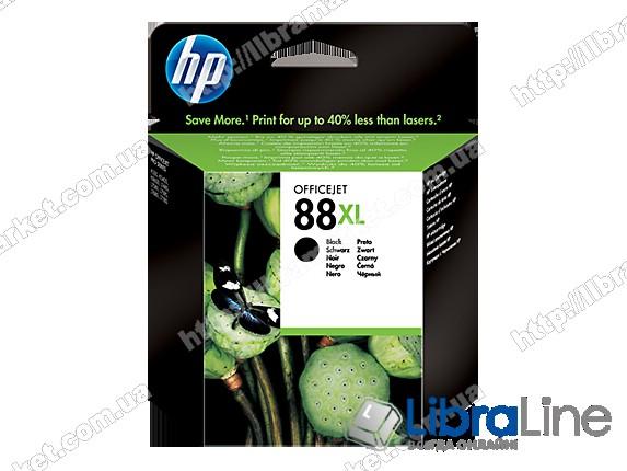 C9396AE, HP 88XL, Оригинальный струйный картридж HP увеличенной емкости, Черный фото 1