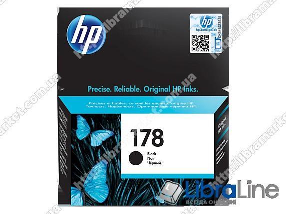 CB316HE, HP 178, Оригинальный струйный картридж HP, Черный фото 1