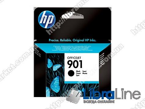 CC653AE, HP 901, Оригинальный струйный картридж HP, Черный фото 1