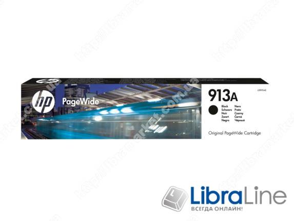 L0R95AE, HP 913A, Оригинальный картридж HP PageWide, Черный фото 1