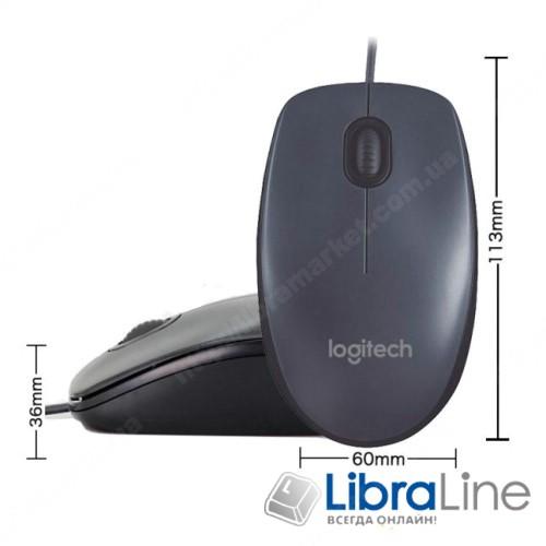 Компьютерная мышь Logitech M90 USB фото 1