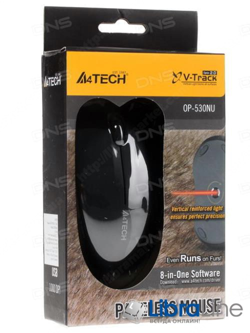 Мышь A4-Tech OP-550NU black USB фото 1