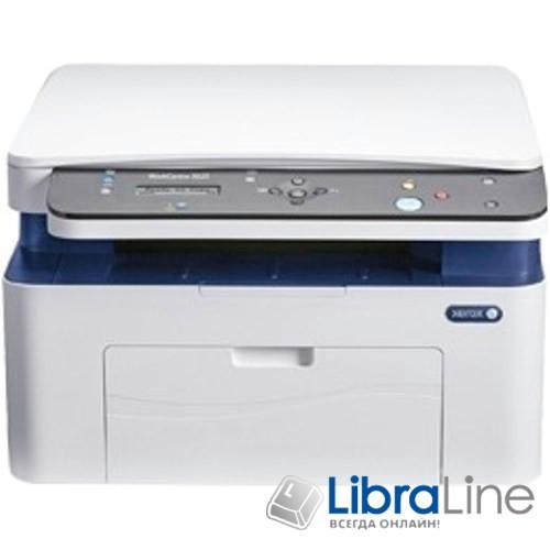 3025V_NI МФУ лазерное А4 Xerox WC 3025NI 21 стр/мин,600х600, USB 2.0, Ethernet, Wi-Fi,15 тис. стр./минн фото 1