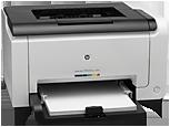 Цветной принтер HP LaserJet Pro CP1025nw