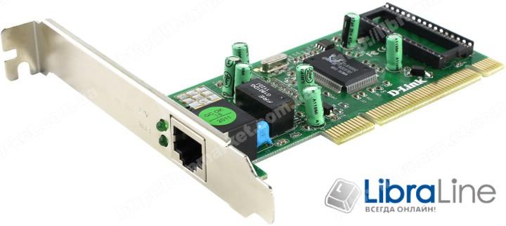 Сетевая карта D-Link DGE-530T 10/100/1000Mbps PCI фото 1