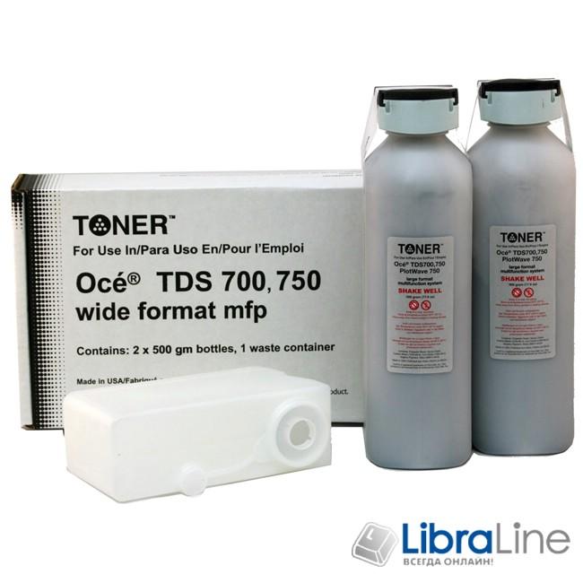 1060047449 Тонер - туба  OCE TDS700 2*0,5кг. USA фото 1